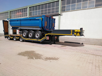 Special Size Agricultural Lowbed Semi Trailer