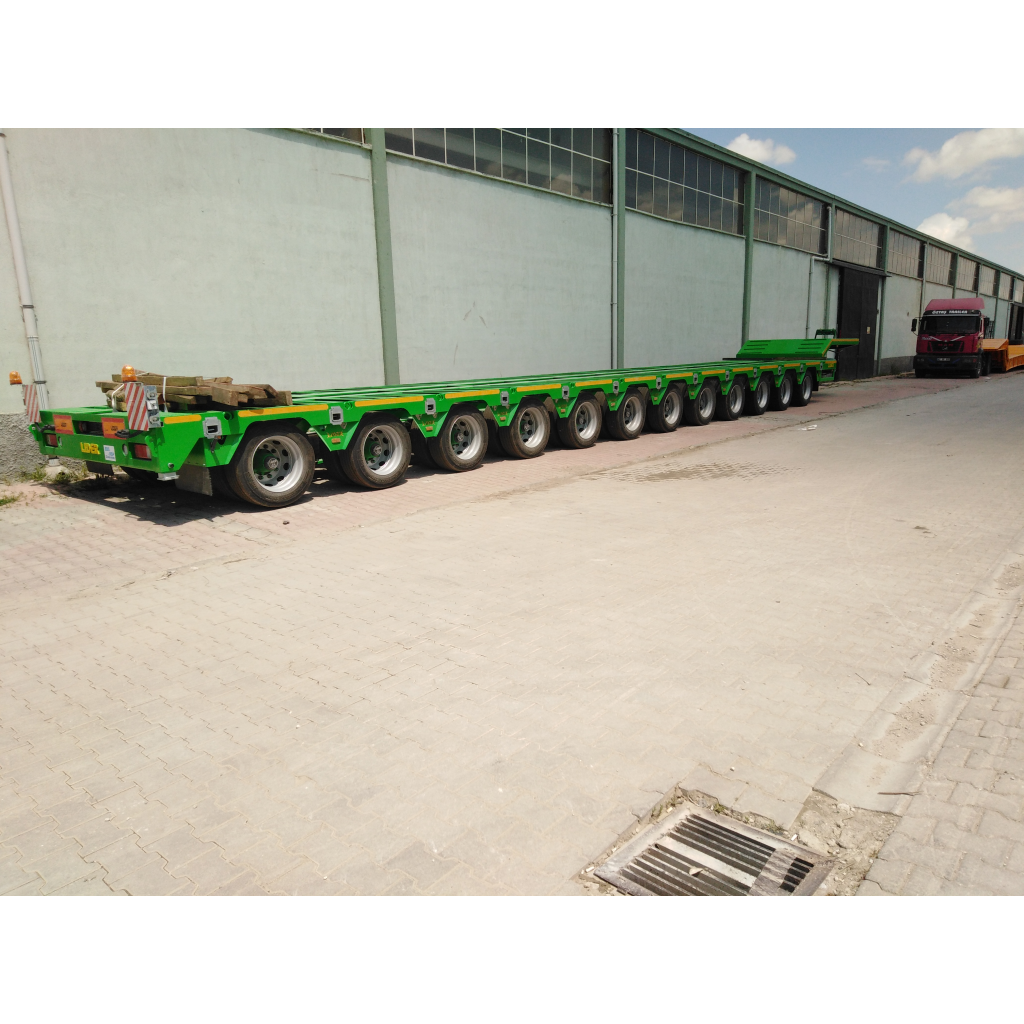 12 Axles and More Trailers