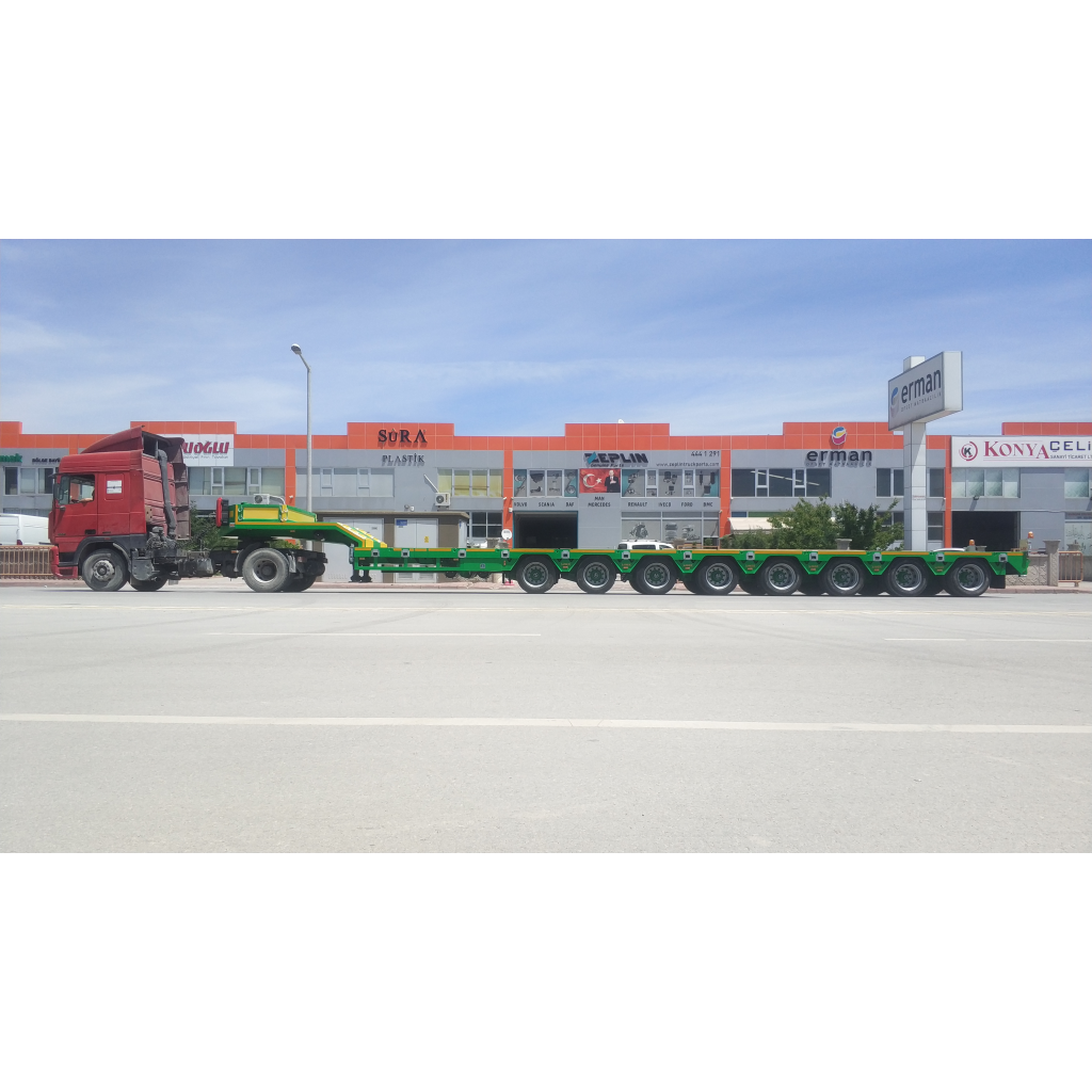8 axle lowbed trailers